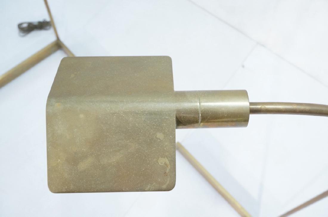 Pr CEDRIC HARTMAN Brass Corner Floor Lamps. Moder - 5