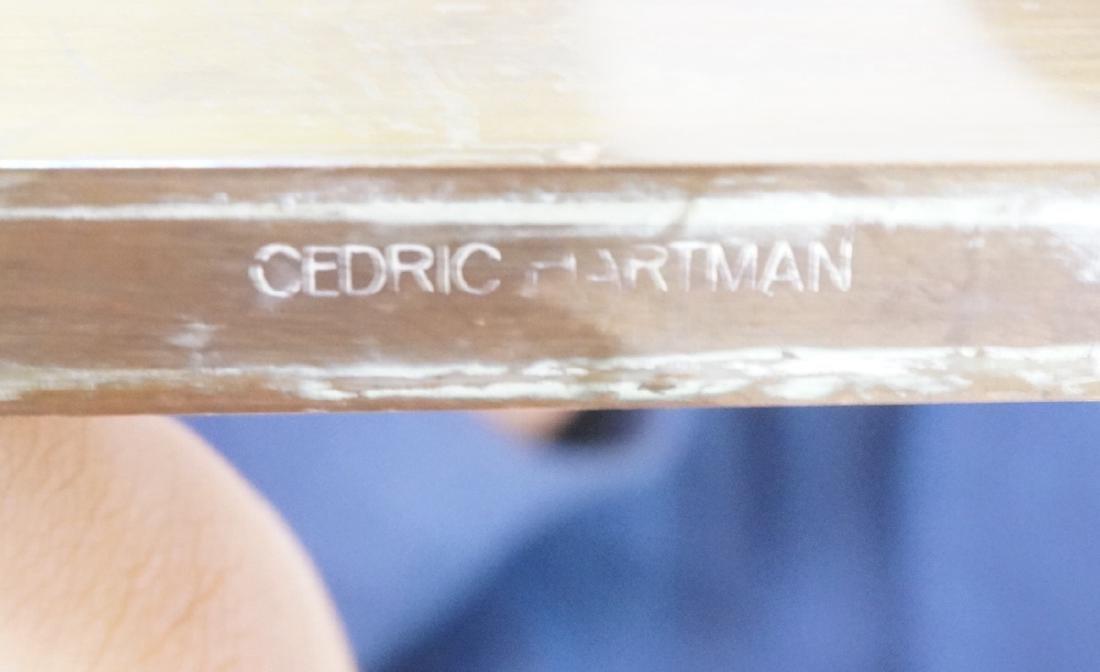 Pr CEDRIC HARTMAN Brass Corner Floor Lamps. Moder - 7