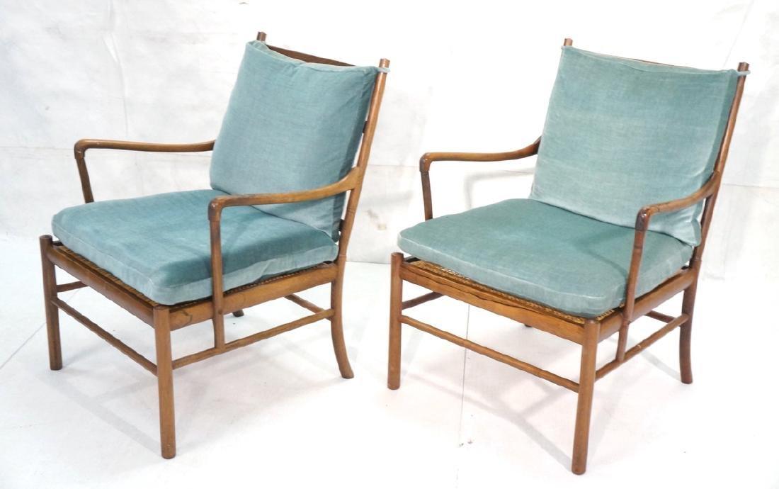 Pr OLE WANSCHER Rosewood Lounge Chairs. Danish Mo - 2