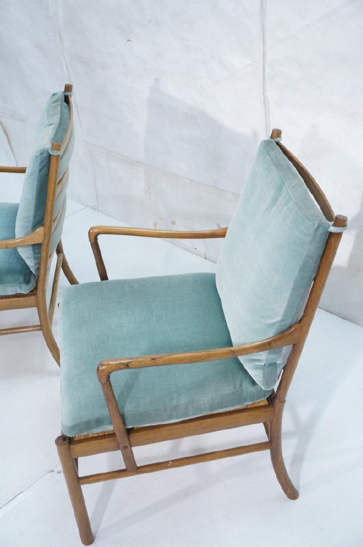 Pr OLE WANSCHER Rosewood Lounge Chairs. Danish Mo - 3