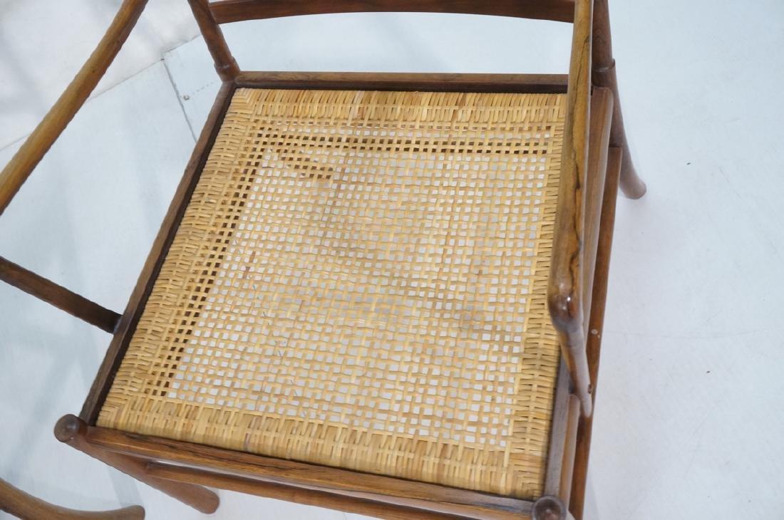 Pr OLE WANSCHER Rosewood Lounge Chairs. Danish Mo - 7