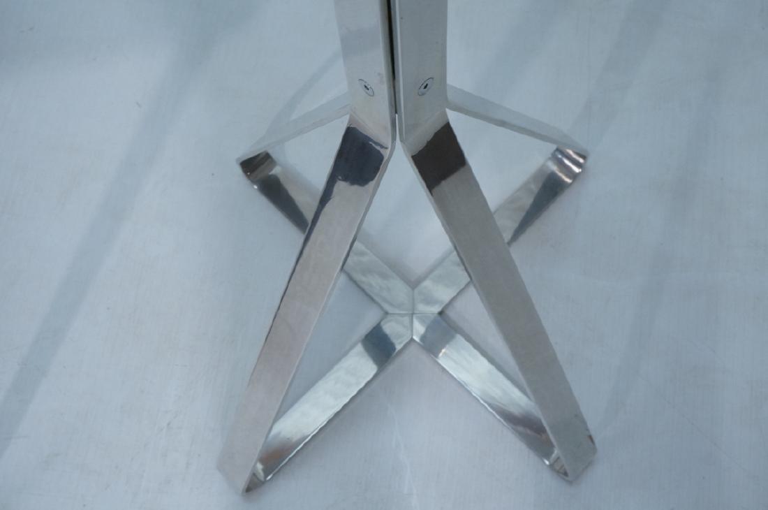 Tall Modern Aluminum Coat Hat Rack. Triangular 4 - 5
