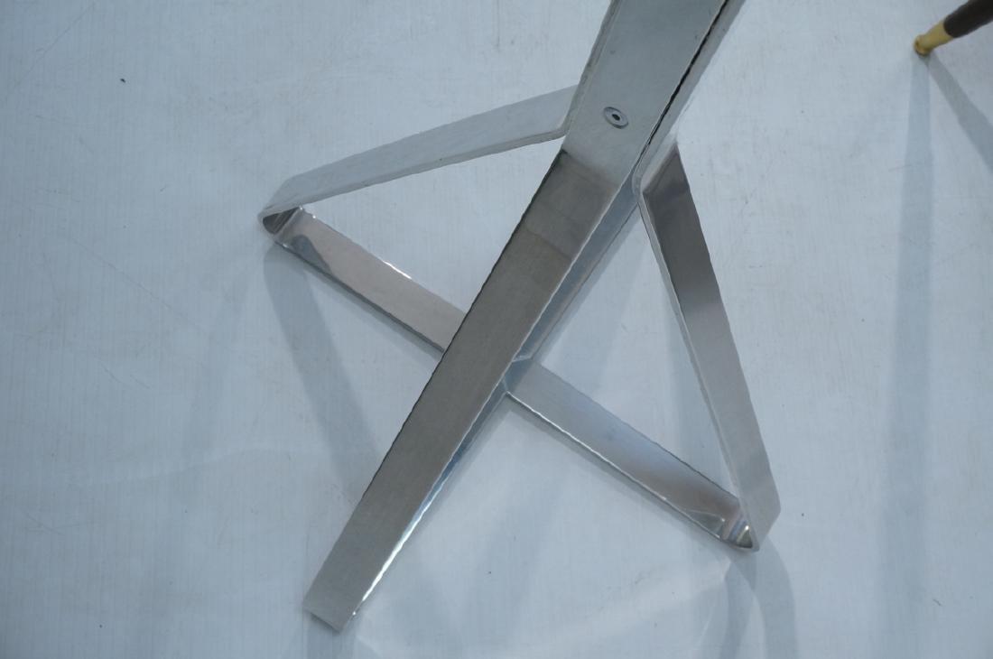 Tall Modern Aluminum Coat Hat Rack. Triangular 4 - 6