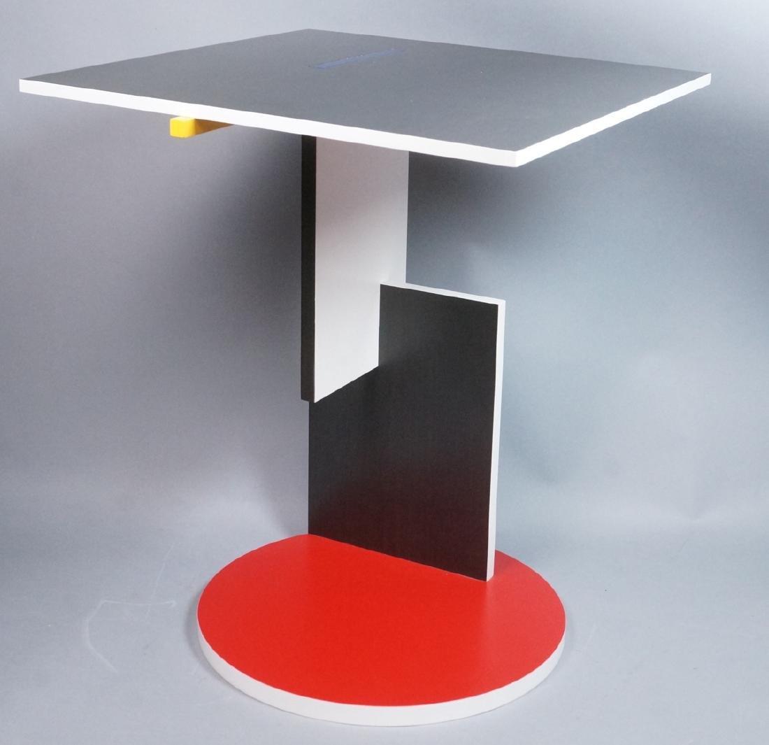 GARRIT RIETVELD for CASSINA Memphis Table. Square