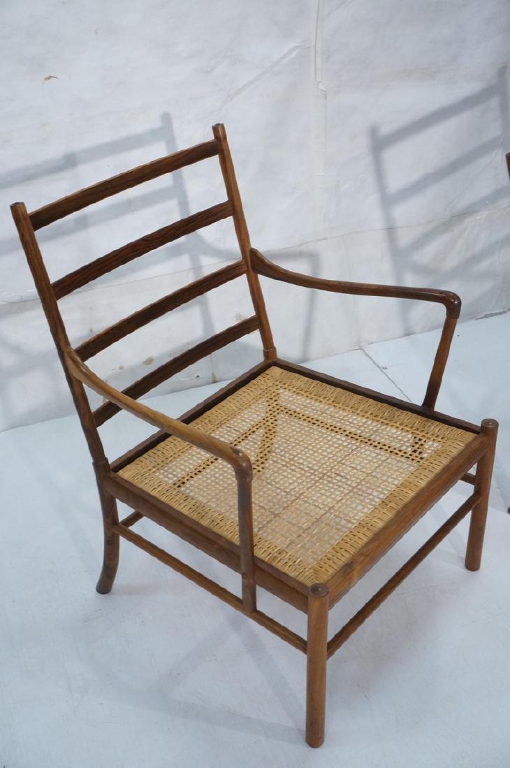 Pr OLE WANSCHER Rosewood Lounge Chairs. Danish Mo - 4