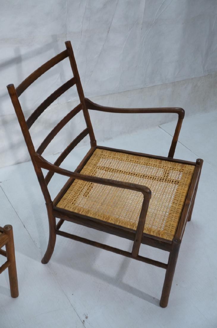 Pr OLE WANSCHER Rosewood Lounge Chairs. Danish Mo - 5