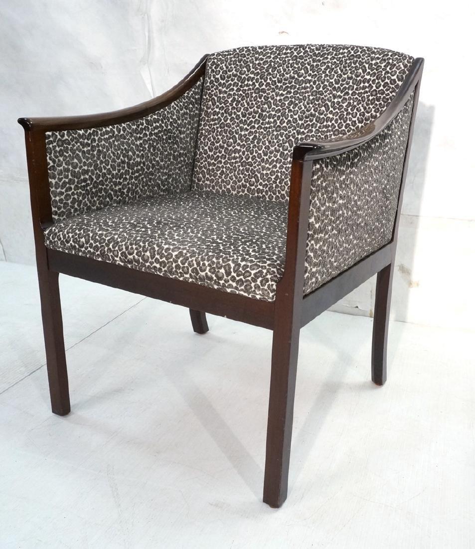 Danish Modern OLE WANSCHER Arm Lounge Chair. Slop