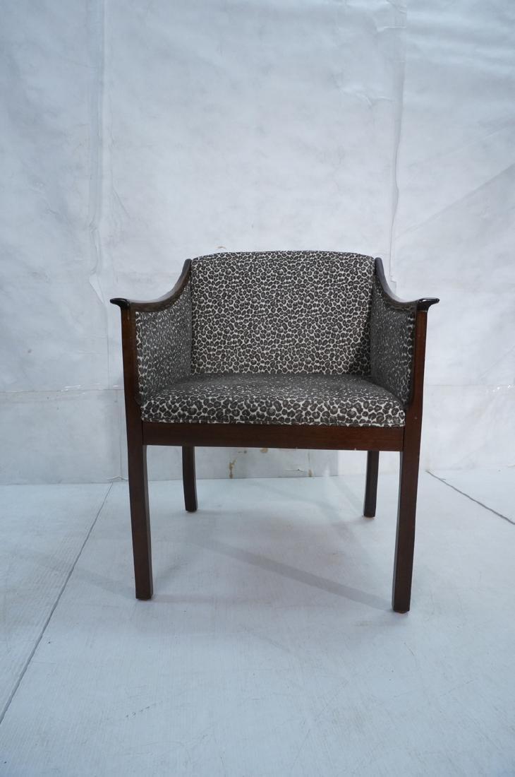 Danish Modern OLE WANSCHER Arm Lounge Chair. Slop - 2