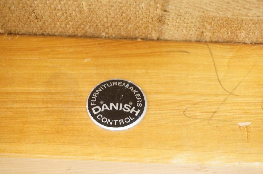 Danish Modern OLE WANSCHER Arm Lounge Chair. Slop - 4