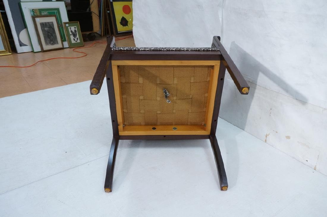 Danish Modern OLE WANSCHER Arm Lounge Chair. Slop - 9