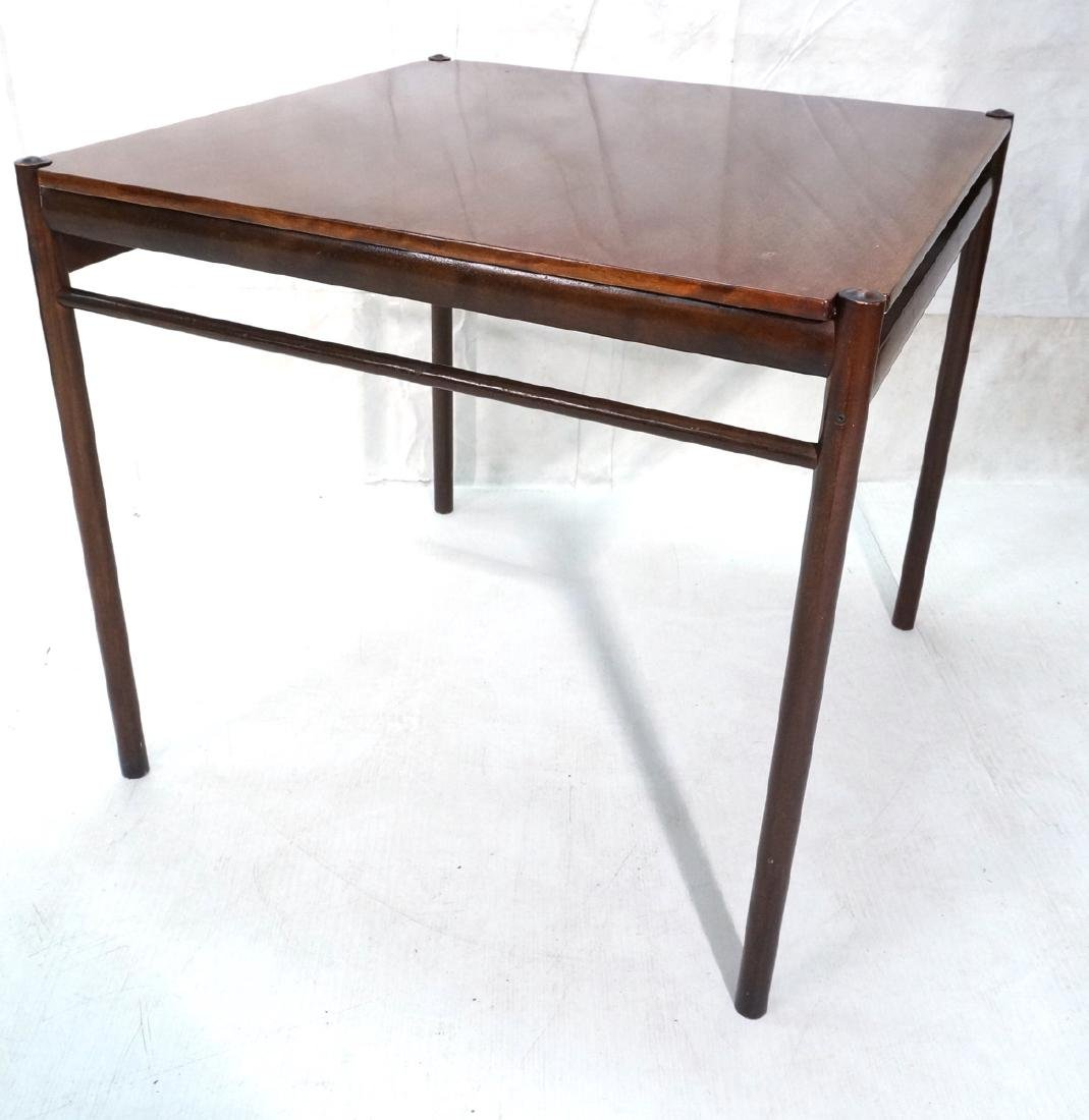 Danish Modern OLE WANSCHER Square Dining Table. W