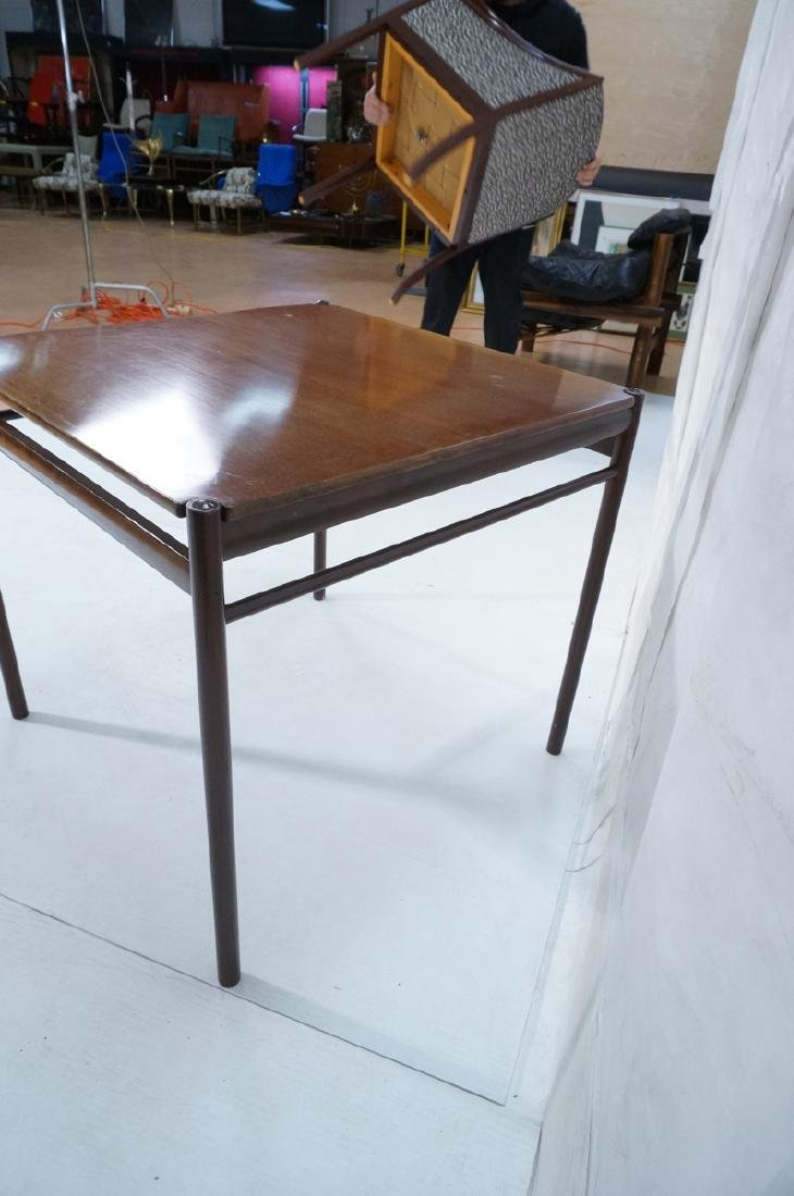 Danish Modern OLE WANSCHER Square Dining Table. W - 6