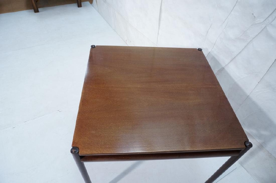Danish Modern OLE WANSCHER Square Dining Table. W - 7