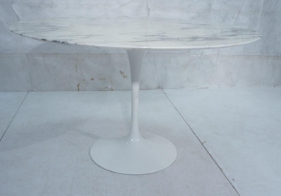 EERO SAARINEN Marble Top KNOLL Tulip Dining Table