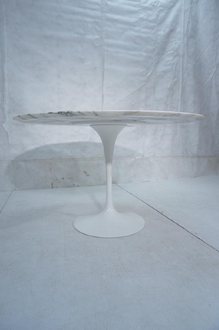 EERO SAARINEN Marble Top KNOLL Tulip Dining Table - 3