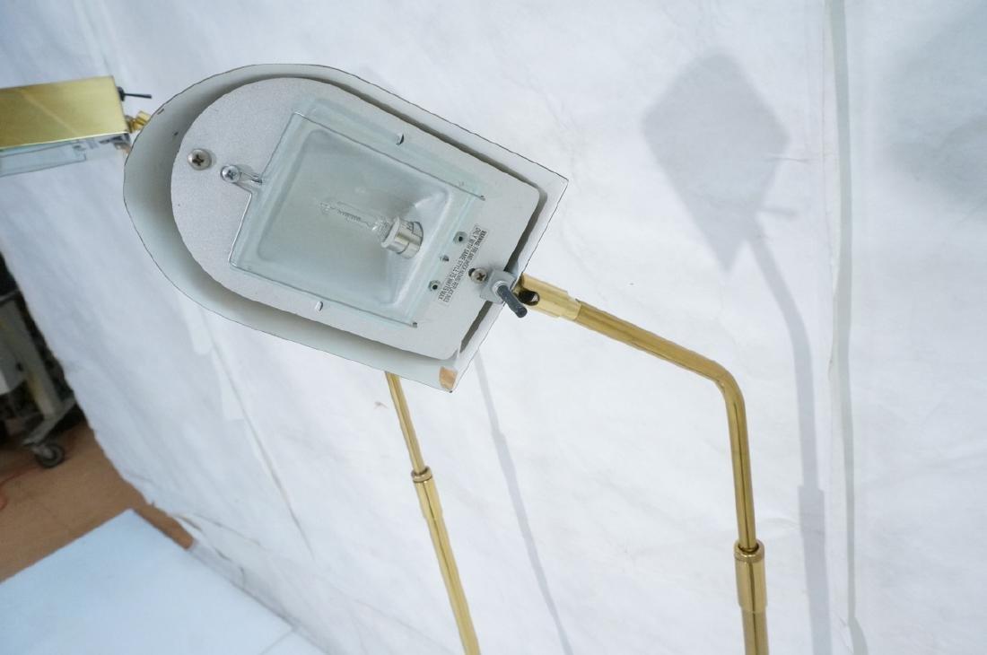 Pr KOVACS Modern Brass Adjustable Floor Lamps. Br - 5