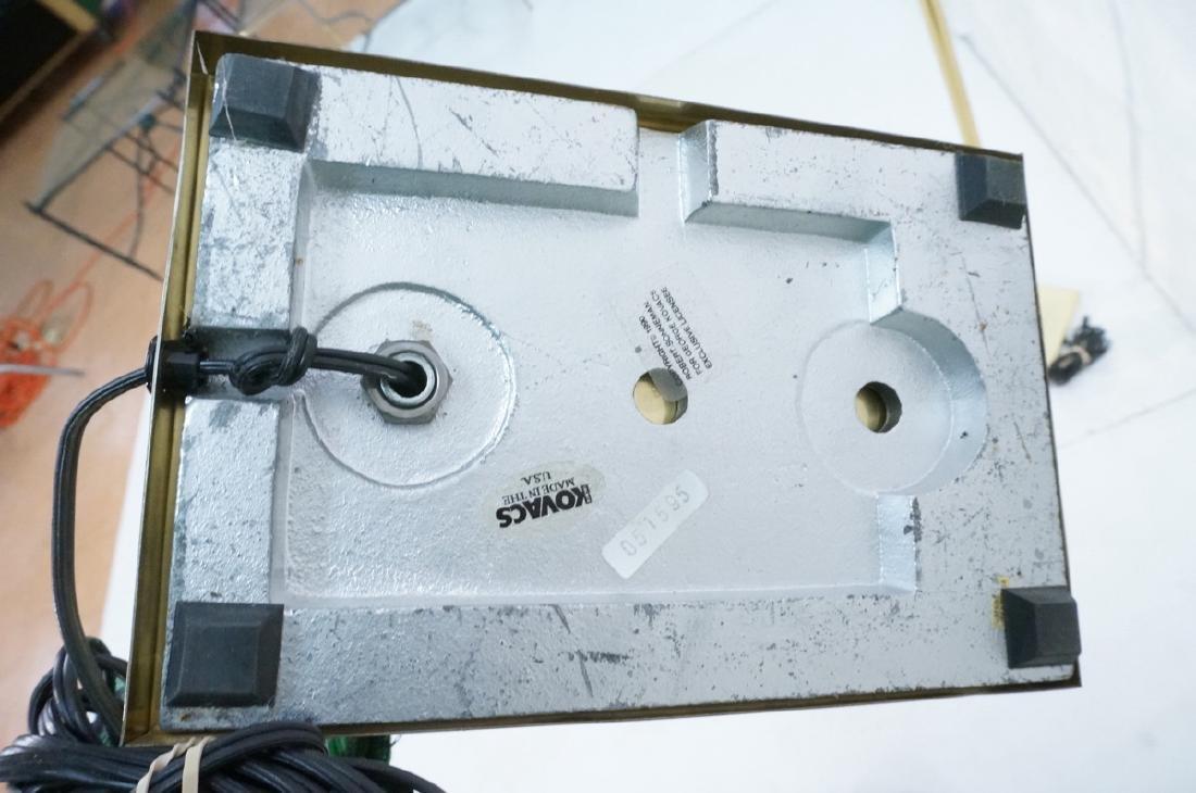 Pr KOVACS Modern Brass Adjustable Floor Lamps. Br - 6