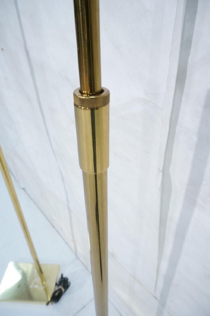 Pr KOVACS Modern Brass Adjustable Floor Lamps. Br - 7