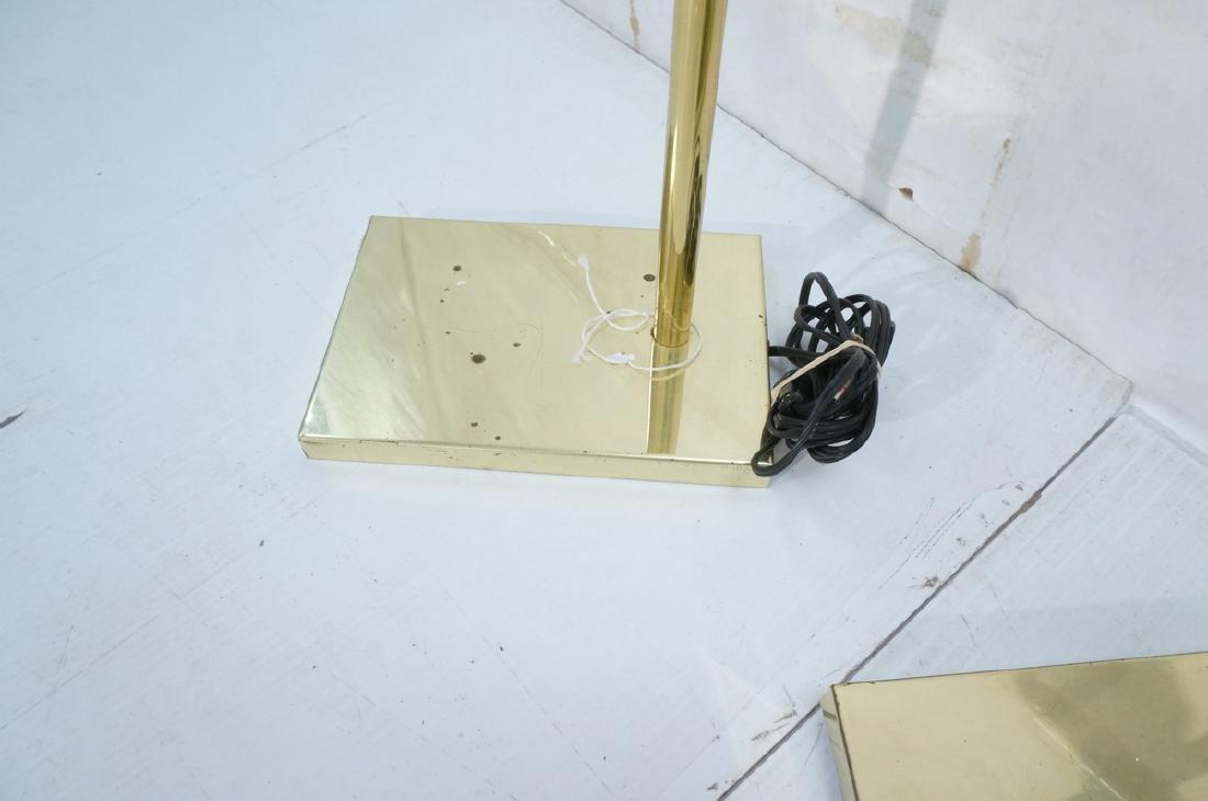 Pr KOVACS Modern Brass Adjustable Floor Lamps. Br - 8