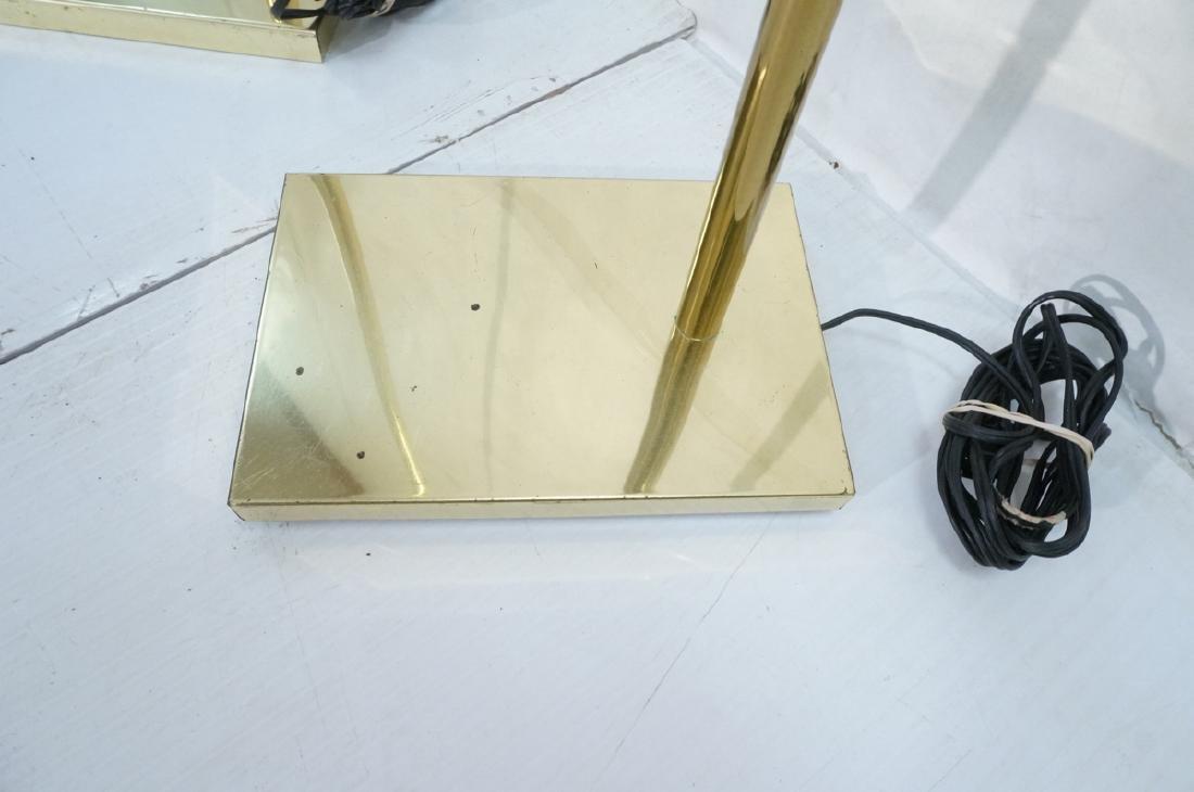 Pr KOVACS Modern Brass Adjustable Floor Lamps. Br - 9