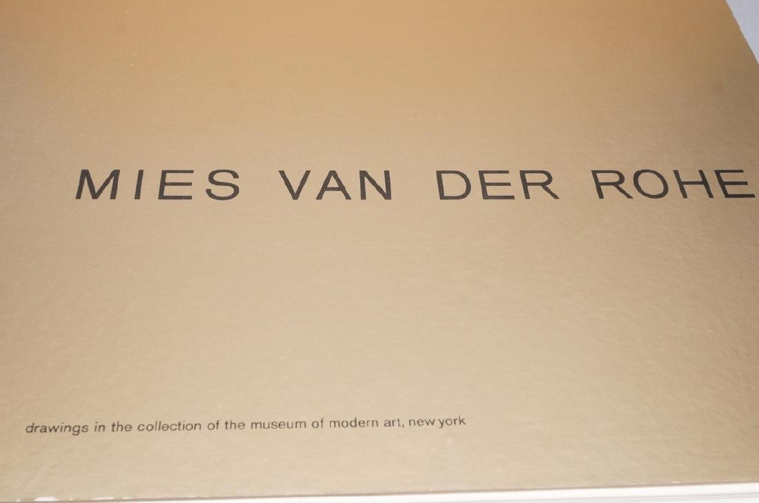 MIES VAN DER ROHE Book 'Drawing in the Collection