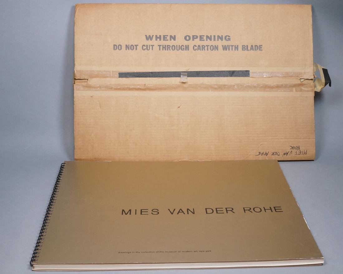 MIES VAN DER ROHE Book 'Drawing in the Collection - 2