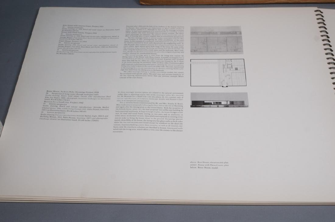 MIES VAN DER ROHE Book 'Drawing in the Collection - 7