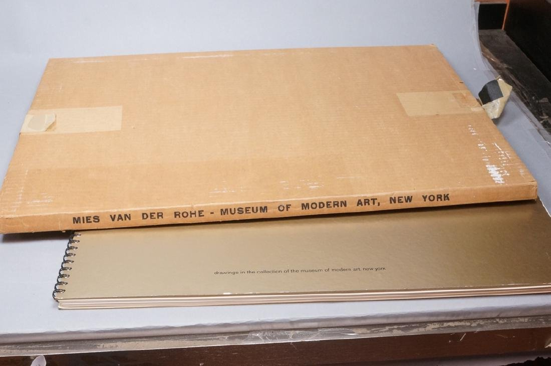 MIES VAN DER ROHE Book 'Drawing in the Collection - 9