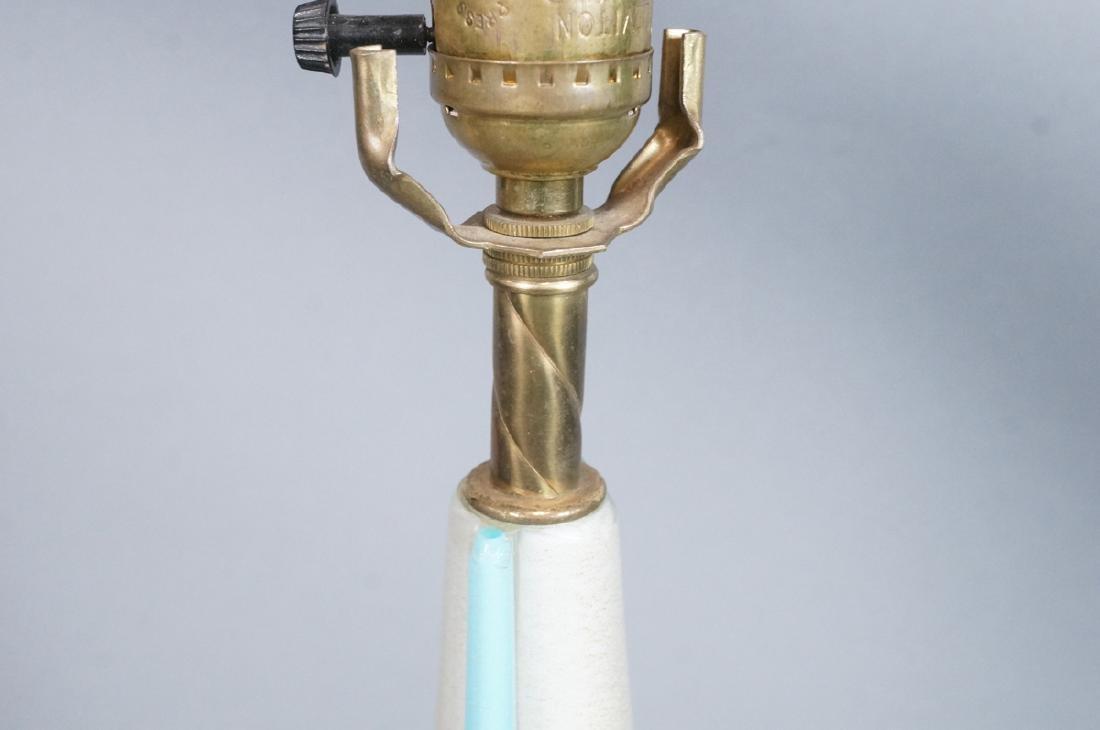 Tall Murano Art Glass Table Lamp. Modern Italian - 4