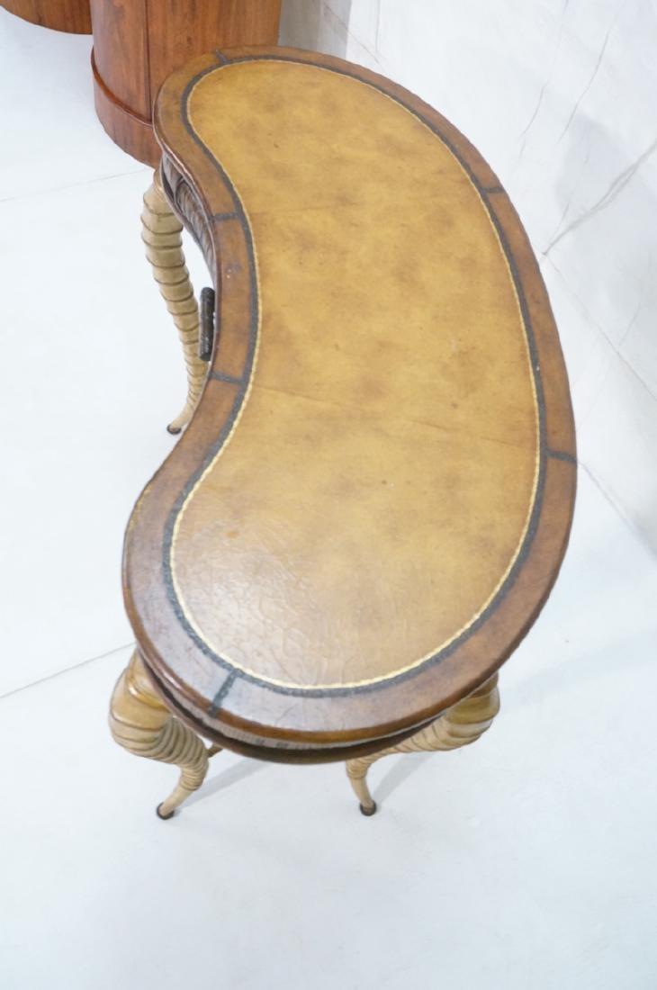Decorator MAITLAND SMITH Style Desk. Faux antelop - 4