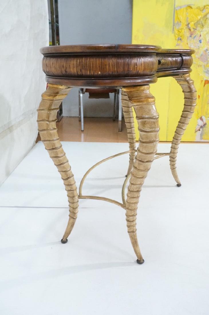 Decorator MAITLAND SMITH Style Desk. Faux antelop - 5