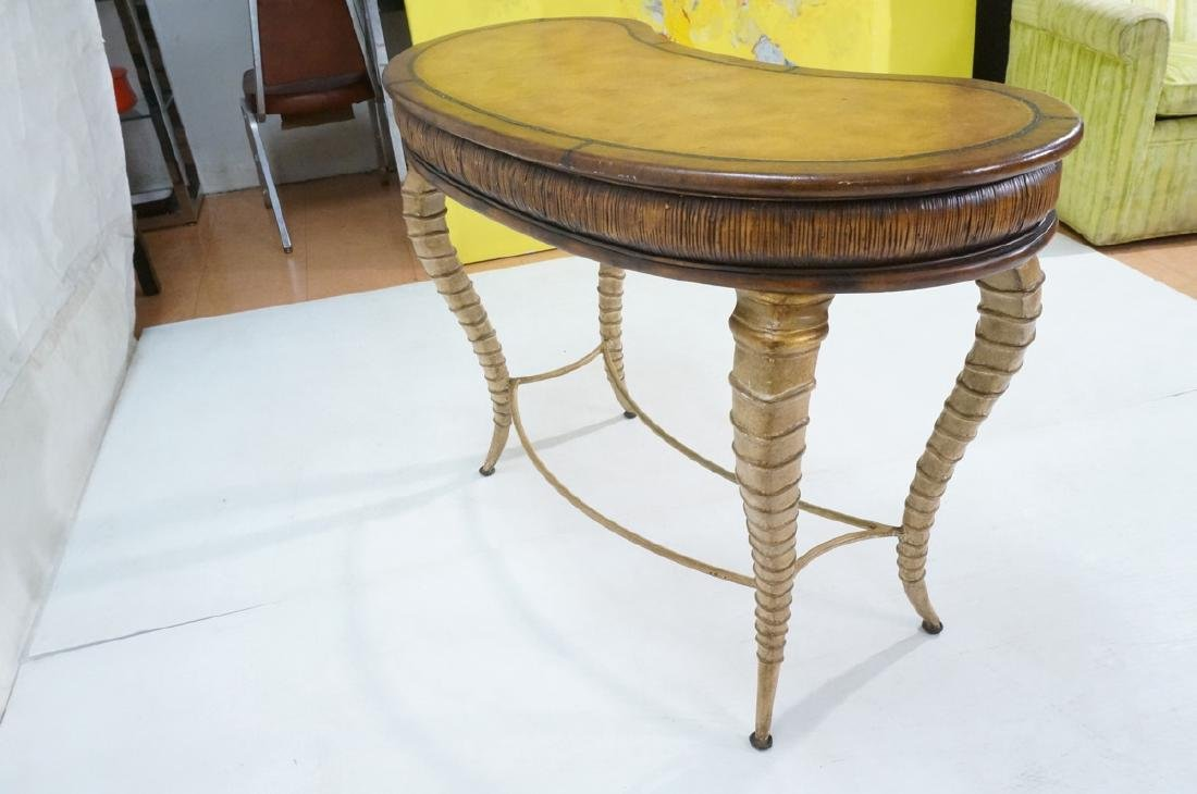 Decorator MAITLAND SMITH Style Desk. Faux antelop - 6