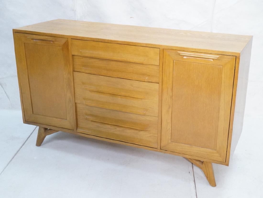Jack Van Der Molen Oak Modern Credenza Sideboard.