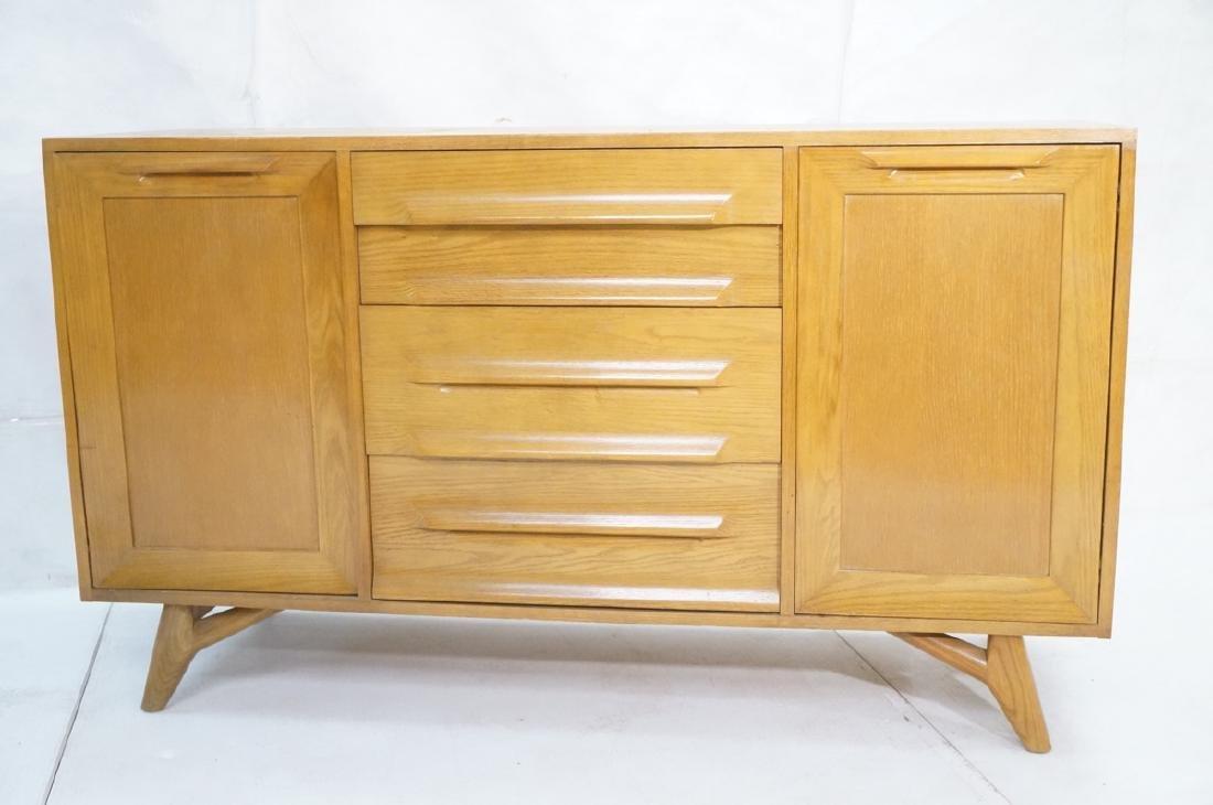 Jack Van Der Molen Oak Modern Credenza Sideboard. - 2