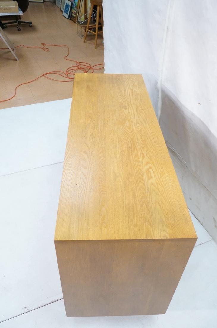 Jack Van Der Molen Oak Modern Credenza Sideboard. - 4