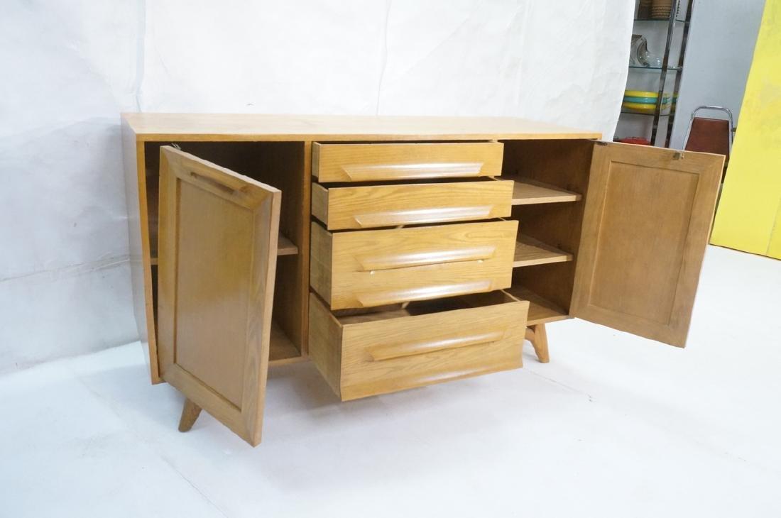 Jack Van Der Molen Oak Modern Credenza Sideboard. - 6
