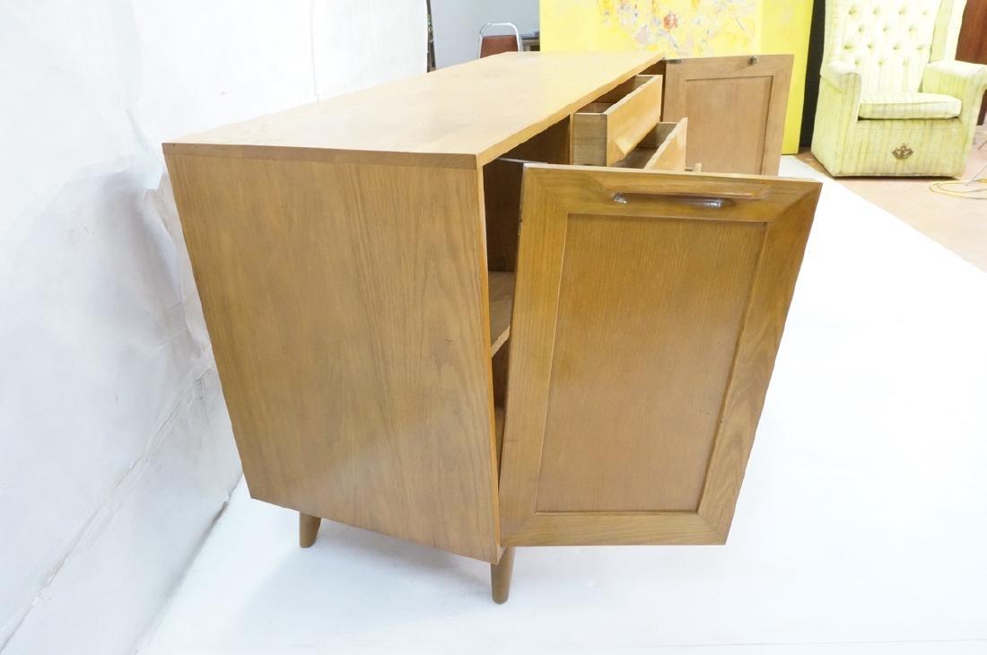 Jack Van Der Molen Oak Modern Credenza Sideboard. - 7