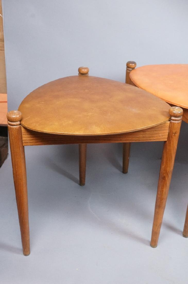 Set 3 Stacking Nesting Stools Tables. Modern tria - 4