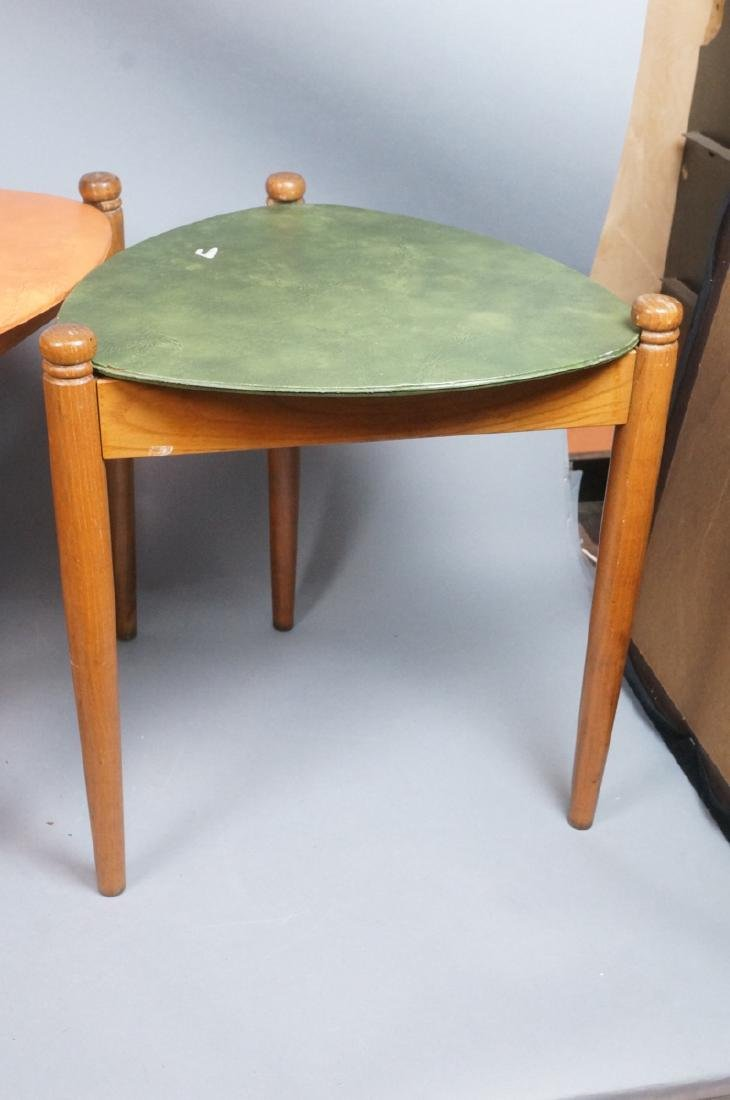 Set 3 Stacking Nesting Stools Tables. Modern tria - 6