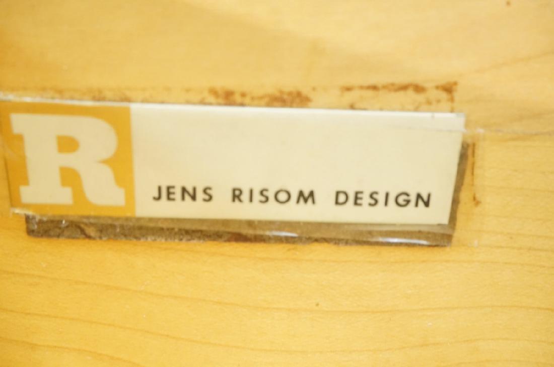 JENS RISOM Design Credenza Sideboard. Raised on l - 2