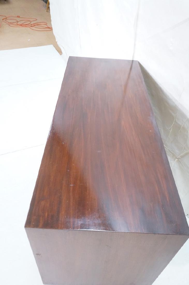 JENS RISOM Design Credenza Sideboard. Raised on l - 5