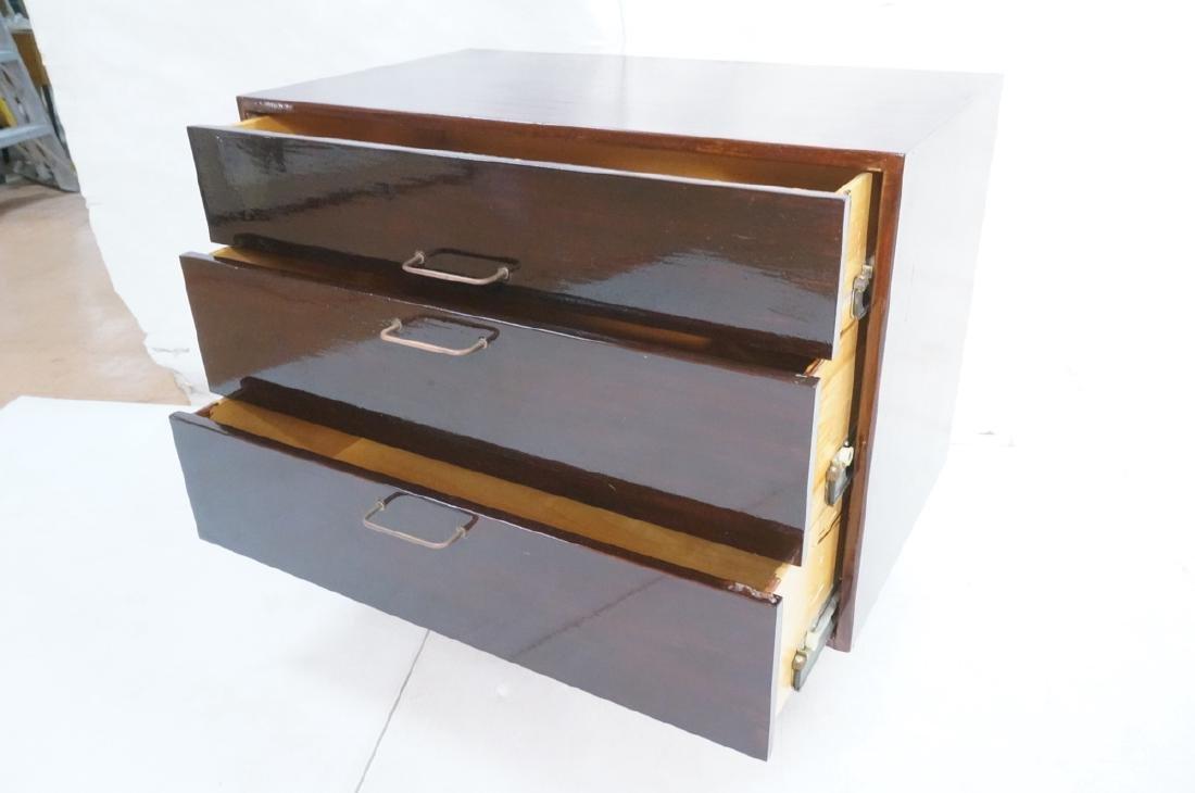 JENS RISOM Design Bachelors Chest. 3 drawer dress - 7