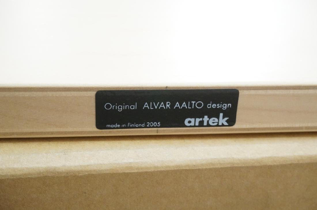 4 ALVAR AALTO for Artek Natural Wood Wall Shelves - 5