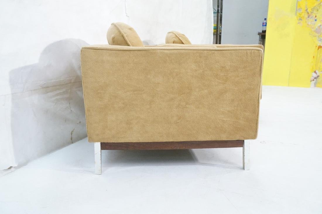 Pr Cube Form Tan Modern Lounge Chairs. Low profil - 3