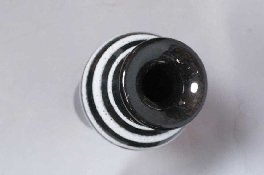 2pc ROSENTHAL NETTER Black Glazed Italian Pottery - 4