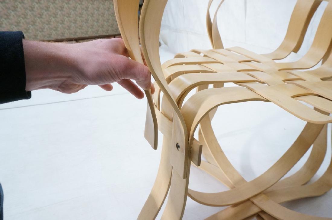 FRANK GEHRY Cross Check Chair. Modern KNOLL - 9