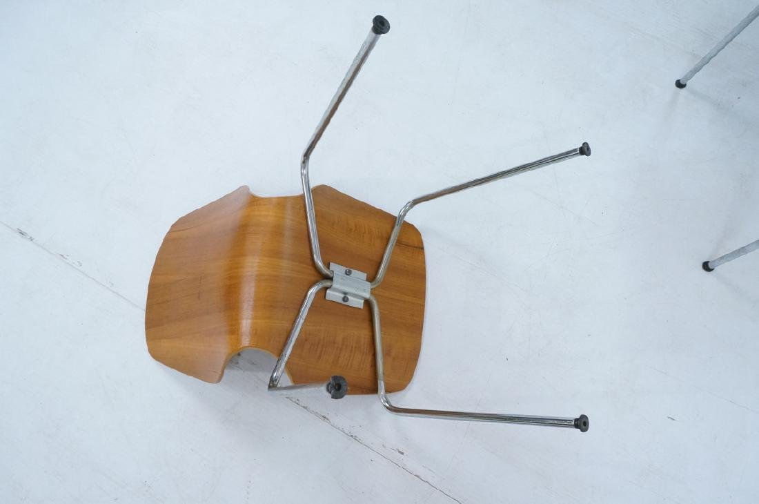 Pr WESTNOFA Laminated Wood Nesting Ant Chairs. Ch - 6