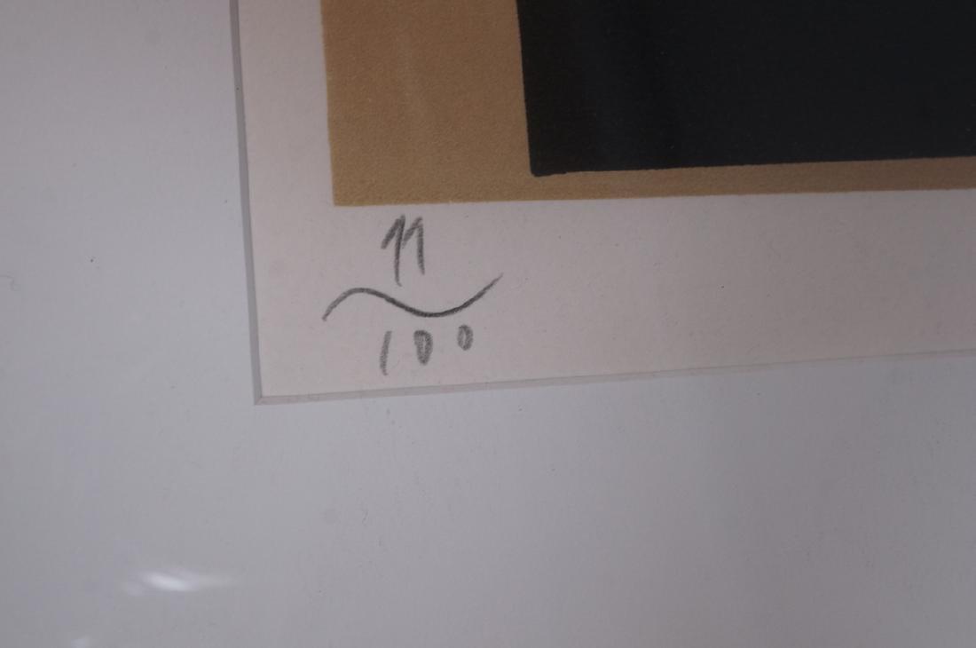 Signed Eduardo Arroyo Silkscreen Print - 3