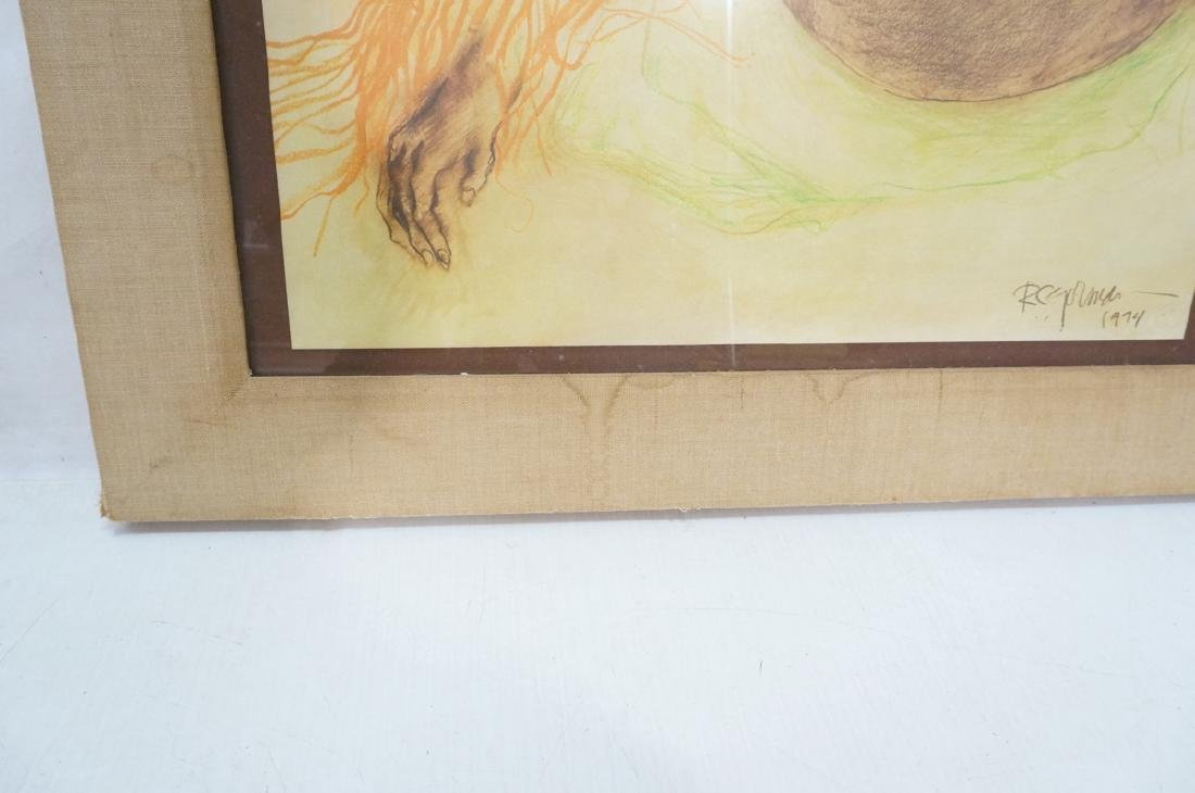 Signed R.C. GORMAN Color Lithograph. Native Ameri - 6