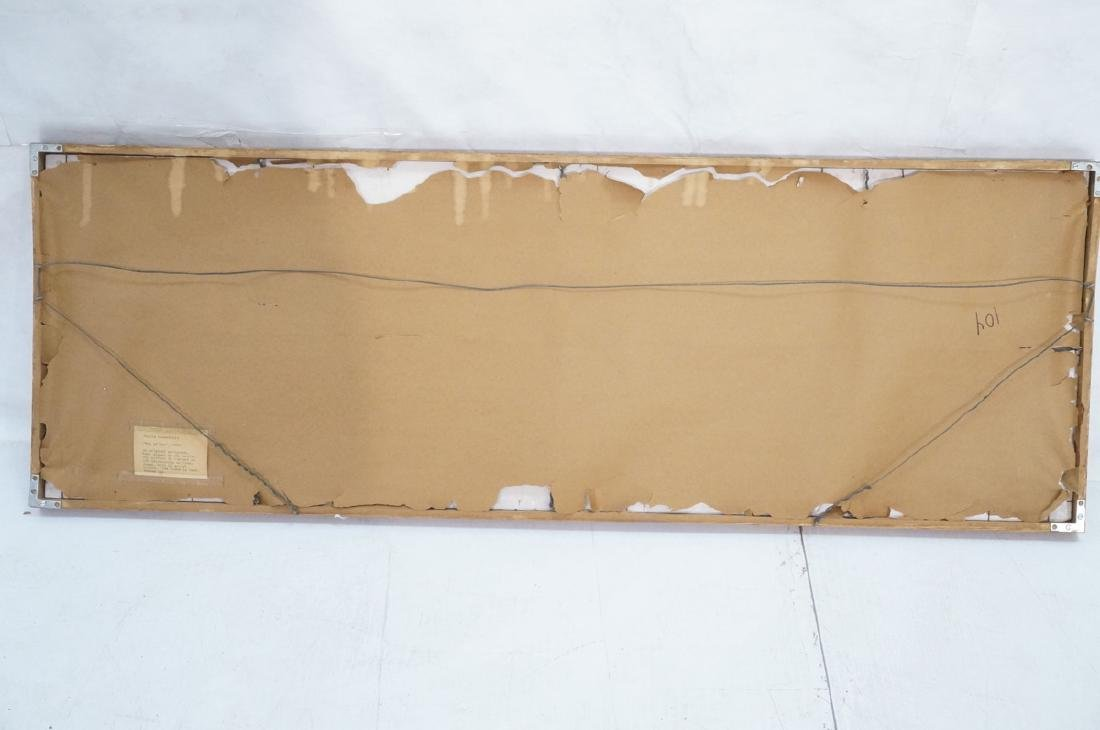 Graphic Figural Silkscreen Print. 2 parts 'Tug of - 10